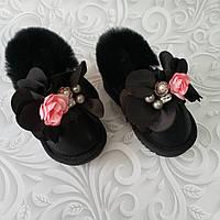 Детские ботинки автоледи с мехом зимние, фото 1