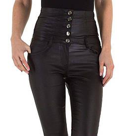 Скинни с высокой талией и блеском Daysie Jeans (Европа) Черный