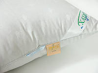 Подушка пуховая гусиный пух 100/0 Экопух Люкс 50х70 - Swan белый