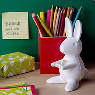 Диспенсер для скотча Desk Bunny Qualy (белый), фото 2