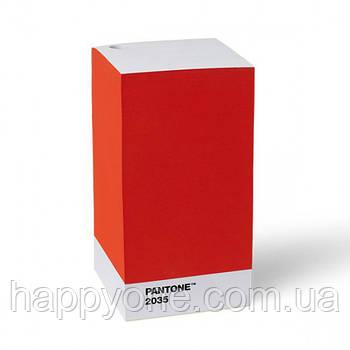 Блок для записей PANTONE Living Red 2035