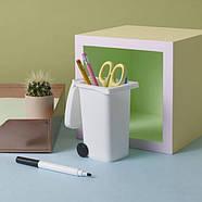 Органайзер для ручек и карандашей Wheelie Bin Desk Tidy DIY Luckies, фото 2