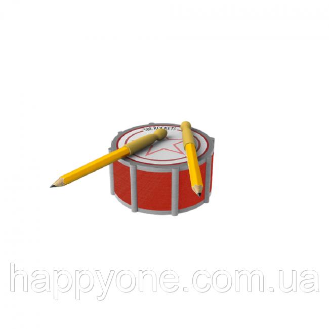 Набор для записей Drummy Rocket Design