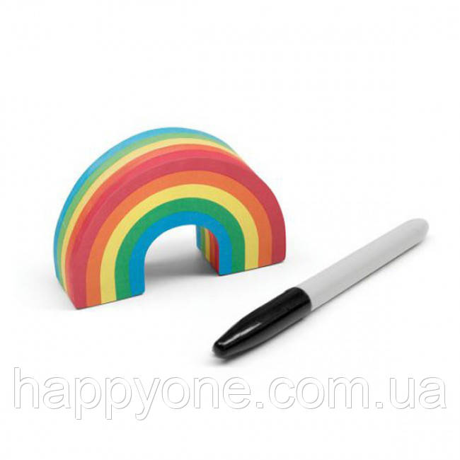 Набор для записей Rainbow Post Its Luckies