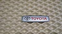 Эмблема логотип TOYOTA для автомобильного ковра