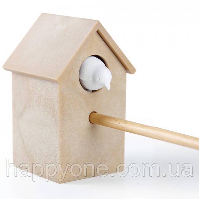 Точилка для карандашей Cuckoo Qualy (коричневая+белая)
