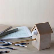 Точилка для карандашей Cuckoo Qualy (коричневая+белая), фото 3