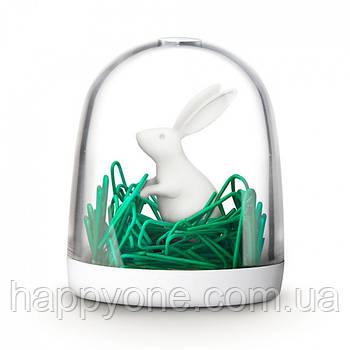 Диспенсер для скрепок Bunny in The Field Qualy