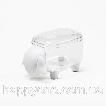 Контейнер Sheepshape Container Junior Qualy (прозрачный-белый)