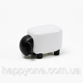 Контейнер Sheepshape Container Junior Qualy (белый-черный)