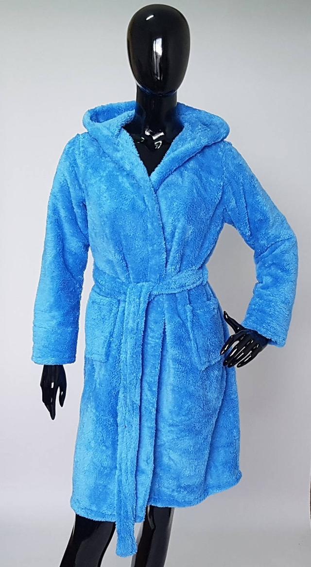 фотография женский махровый халат