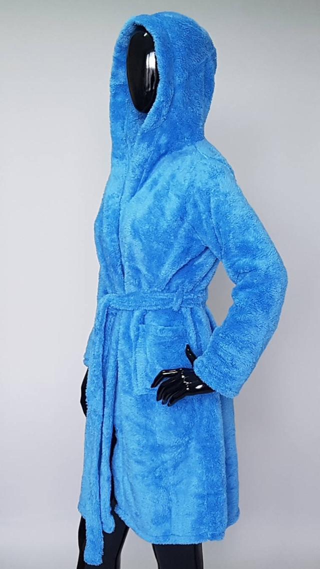 картинка короткий женский махровый халат