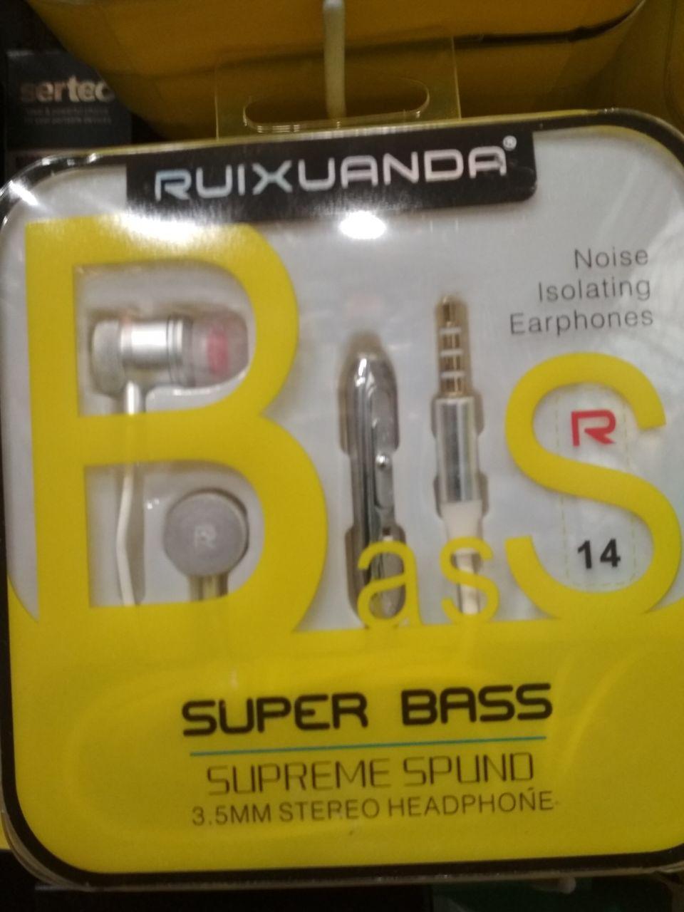 Наушники с гарнитурой Ruixuanda R14