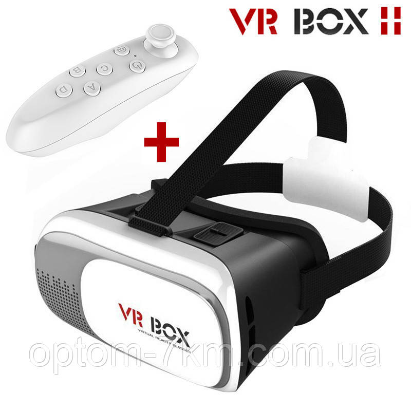 Окуляри віртуальної реальності з пультом VR BOX 1475 VJ