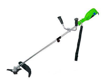 Электрокоса Vorskla ПМЗ 1700 (бобина, нож, руль как на бензо, стальной трос) электро триммер коса