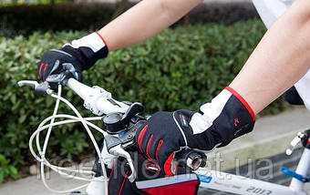 Велосипедні рукавички зимові Robesbon (L) windstopper, фото 3
