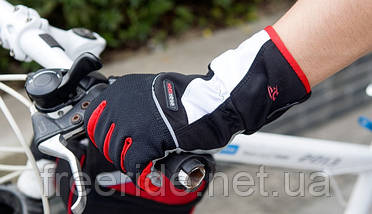 Велосипедные перчатки зимние Robesbon (L) windstopper, фото 2