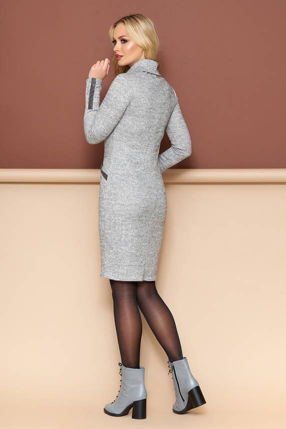 Осеннее платье с длинным рукавом, фото 2