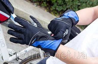 Велосипедные перчатки зимние Robesbon (XL) windstopper, фото 2