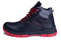Мужские зимние кожаные ботинки ZG Flotar Red Line, фото 1