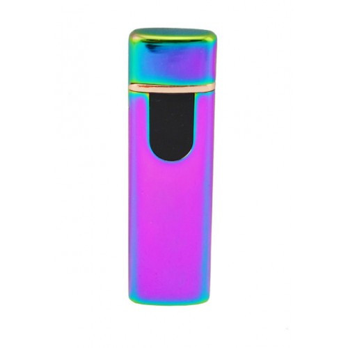 Электронная зажигалка SUNROZ TH-752 портативная аккумуляторная USB Хамелеон