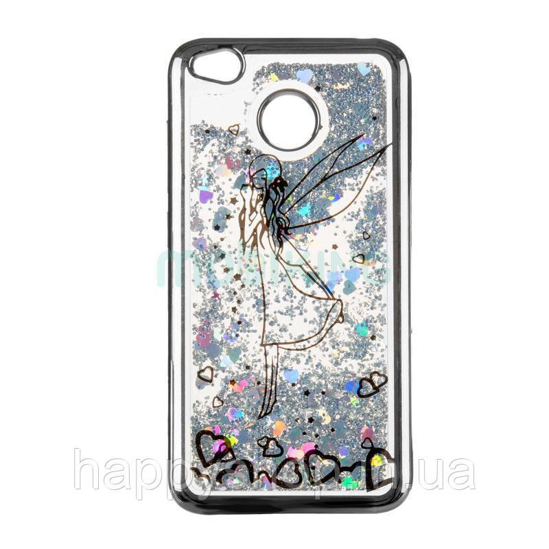 Силиконовый чехол Beckberg Aqua для Nokia 2 (Fairy Black)