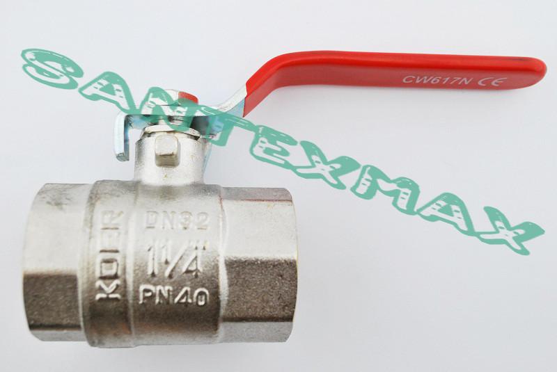 """Кран шаровый Koer kr.214 1.1/4"""" г.г. ручка"""