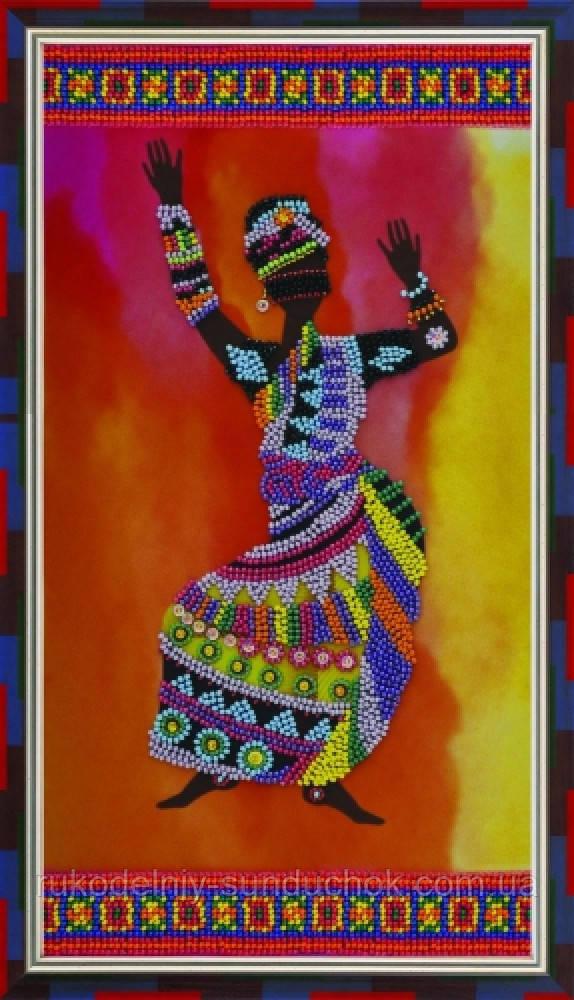 """Набор для вышивки бисером ТМ """"Картины бисером"""" Африканские мотивы-2  Р-094"""