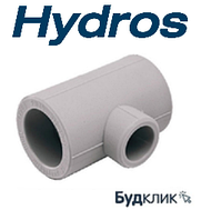 Тройник переходной 25*20*25 PPR HydroS Чехия