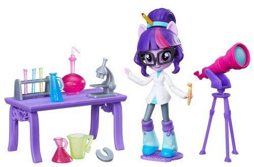 My Little Pony minis Equestria Girls Twilight Sparkl серія Урок Астрономії ( Мини Девушки Эквестри Искра)