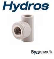 Трійник з ВР 20*1/2*20 HydroS Чехія