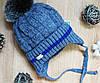 Зимняя детская шапка на мальчика,флис