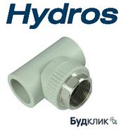 Трійник під ключ з ВР 40*1 1/4*40 HydroS Чехія