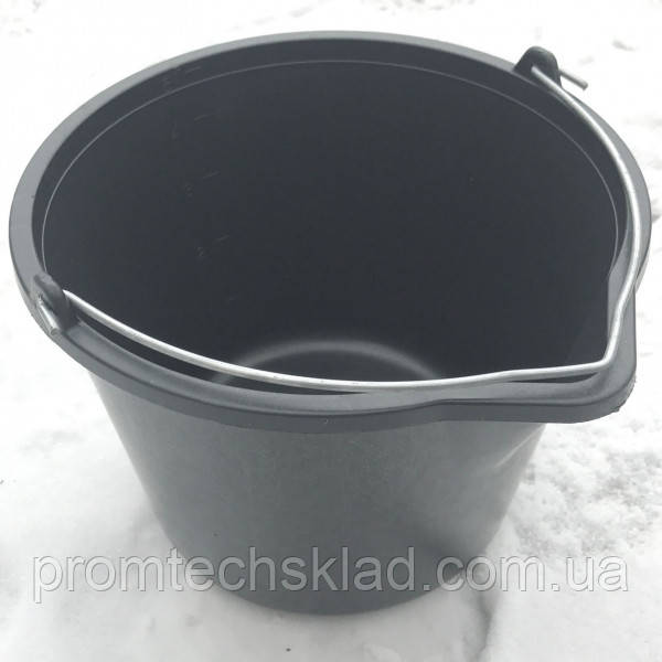 Ведро строительное с носиком 5 литров