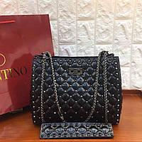 Женская сумка-тоут Valentino Garavani Rockstud 35 см (реплика), фото 1