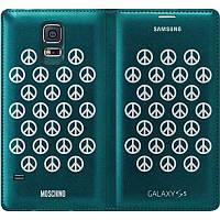 Дизайнерский чехол-книжка Samsung Galaxy S5 Moschino Peace