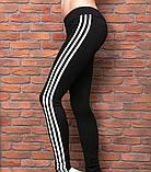 """Лосины спортивные """"CrossFit"""" 42, черный, фото 2"""