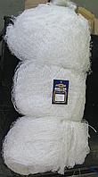 Сетеполотно капроновое, нить белая 29*6 (Высота 75 ячеек)
