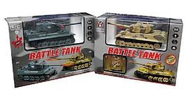 Танк 66523 E на радиоуправлении Танки р/у Подарок мальчику Самая популярная игра танки Интерактивная игрушка