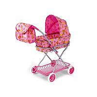 Коляска 9325 для кукол с сумкой и сеткой, игрушки для девочек, подарки детям