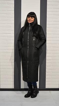 1ff8715d0d2 Черное длинное пальто Alberto Bini 50263  продажа