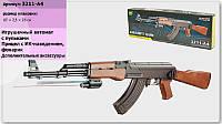 Автомат Калашникова АК-47+ИК прицел и фонарик Игрушечное оружие Детский Автомат Калашникова АК-47 M 3211-A4
