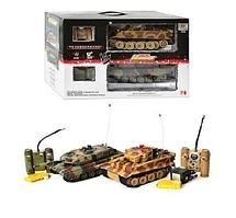 Набор танков 558, на радиоуправлении, на аккумуляторе, +звук, +свет, в наборе 2 шт.Танки 558 на р/у.