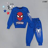 Утепленный костюм Spiderman для мальчика. 3-4;  5-6;  7-8;  9-10 лет, фото 1