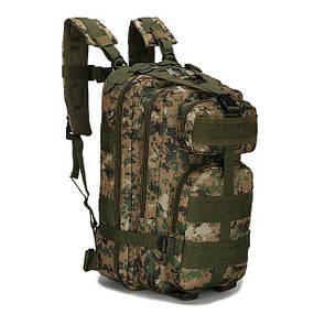 Тактический, походный рюкзак Military. 25 L. Темный