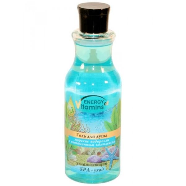 """Крем-гель для душа """"Морские водоросли с витаминным комплексом"""" 250мл ВС"""