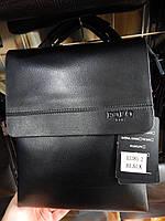 Чоловіча сумка через плече від фірми Polo шкіряний клапан опт/роздріб