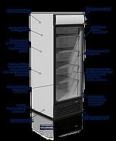 Шкаф холодильный VD75G JUKA, 590л, (+1..+10), со стеклянной дверью, фото 1