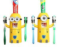 Дозатор зубной пасты Миньон с держателем для щеток