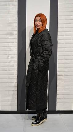 6314f741610 Пальто черное с поясом Alberto Bini 5024  продажа